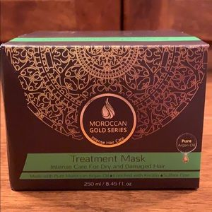 NWT - Moroccan Gold Series - Treatment Mask